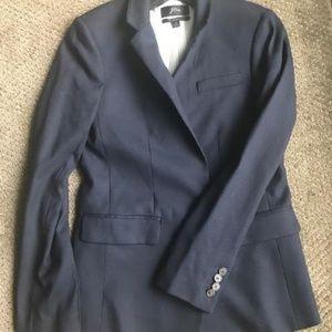 Navy Wool J Crew Blazer